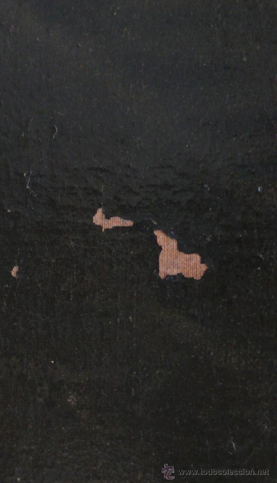 Arte: San Francisco de Asis, óleo sobre tela reentelado s. XVIII. 120x85 cm. - Foto 3 - 26603361