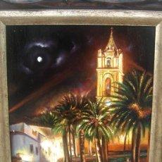Arte: ÓLEO S/TABLA Y ENMARCADO. FIRMADO.- M. AGUILAR 2011. CABRA (CÓRDOBA). DIM.- 47,750X39,250 CMS.. Lote 26311670