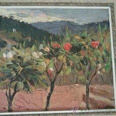 Arte: OLEO SOBRE TABLA DE JOAQUIN TERRUELLA MATILLA. Lote 26439597