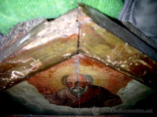 Arte: CALVARIO ESCUELA TOLEDANA SIGLO XVII. Oleo/s TABLA. VER DESCRIPCIÓN. Md. 77x63 ADJUNTA. ENVÍO PAGO. - Foto 12 - 56041291