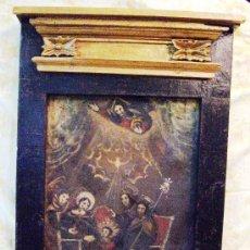Arte: PINTURA AL OLEO DEL SIGLO XVII. MARCO SIGLO XVIII MD.80X50CM.. Lote 32329274