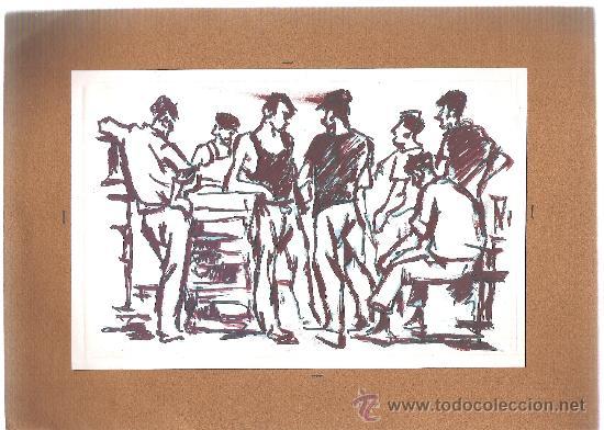 OLEO ORIGINAL FRESQUET - 18X12 (Arte - Pintura - Pintura al Óleo Moderna sin fecha definida)
