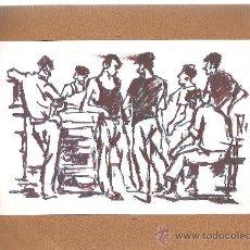 Arte: OLEO ORIGINAL FRESQUET - 18X12. Lote 25735778
