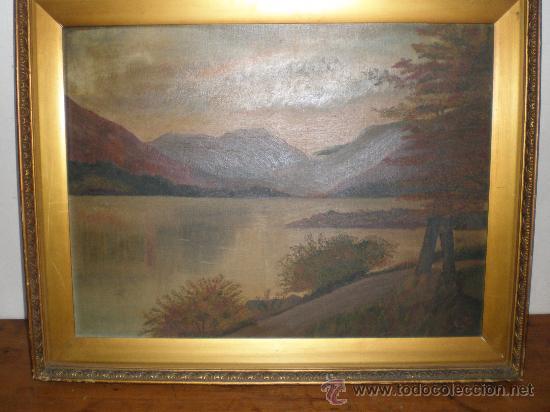 PINTURA AL OLEO PAISAJE (Arte - Pintura - Pintura al Óleo Antigua sin fecha definida)