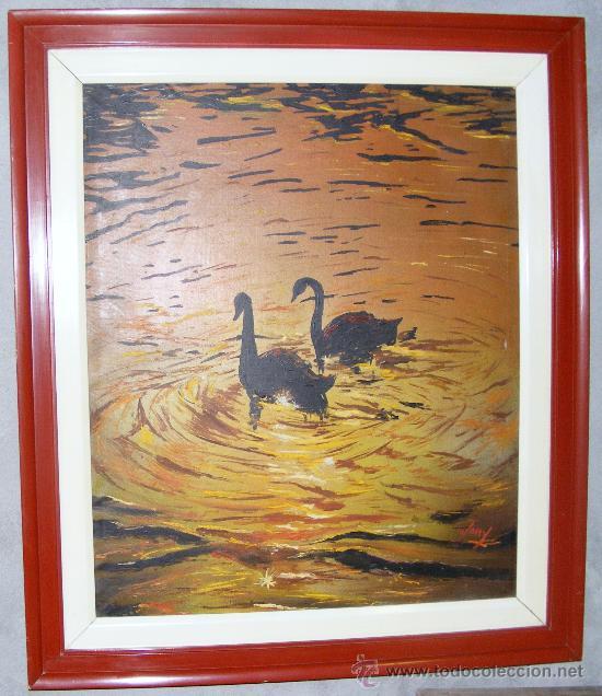 OLEO SOBRE TELA , FIRMADO (Arte - Pintura - Pintura al Óleo Contemporánea )