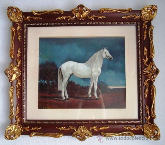 Arte: F. R. Yáñez, Caballo Blanco, óleo sobre lienzo, 1987 - Foto 2 - 26683212