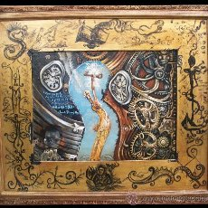 Arte: DALI- HOMENAJE A LA PERMANENCIA- JUAN IZQUIERDO. Lote 26794287