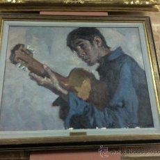 Arte: CUADRO ÓLEO LIENZO PINTOR MANUEL MONEDERO,(1929 - 2002).. Lote 26851119