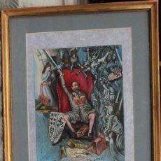 Arte: EL LOCO - QUIJOTE - JUAN IZQUIERDO. Lote 26902599