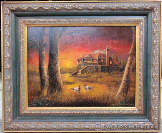 BONITO PAISAJE - ROMAN DOMINGUEZ OCHOA (Arte - Pintura - Pintura al Óleo Moderna sin fecha definida)