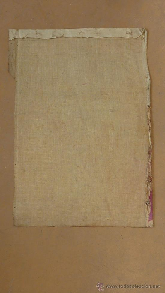 Arte: Anonimo oleo sobre tela. dama. De aproximadamente años 40s 50s. - Foto 3 - 27003451