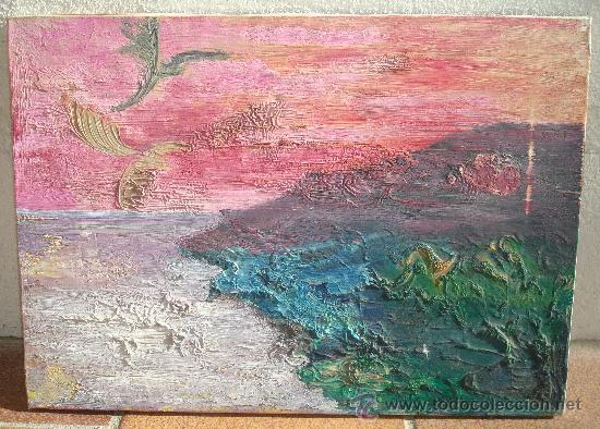OLEO SOBRE LIENZO 46X33CM (Arte - Pintura - Pintura al Óleo Contemporánea )