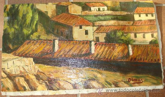 PINTURA AL OLEO SOBRE LIENZO, SIN BASTIDOR (Arte - Pintura - Pintura al Óleo Moderna sin fecha definida)
