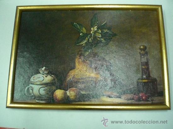 Arte: CUADRO BODEGON ANTIGUO - Foto 8 - 30796630
