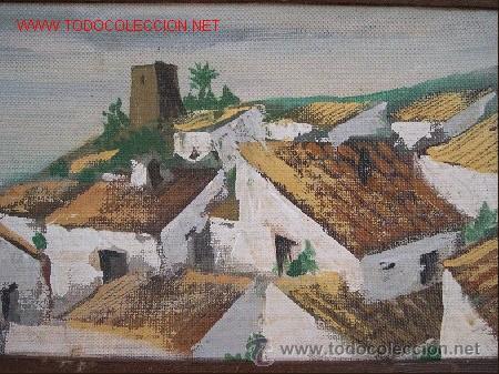 OLEO-TABLEX DE TORREMOLINOS.BUEN COLORIDO. (Arte - Pintura - Pintura al Óleo Moderna sin fecha definida)