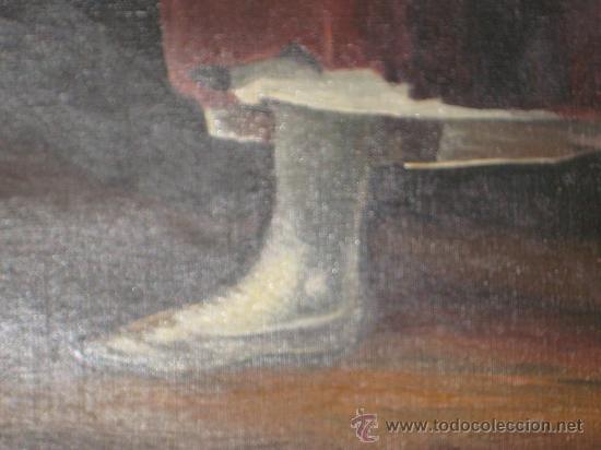 Arte: CUADRO DE PINTURA AL OLEO SOBRE LIENZO (LA AGUADORA DE GOYA REPLICA AÑOS 60 ) - Foto 12 - 54142666