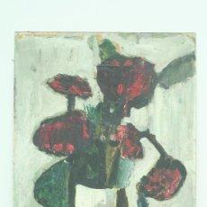 Arte: OLEO SOBRE TABLEX. PINTURA DE LOS AÑOS 70 POSIBLEMENTE DEL GRUPO COBRA. FIRMA ILEGIBLE. . Lote 28414436