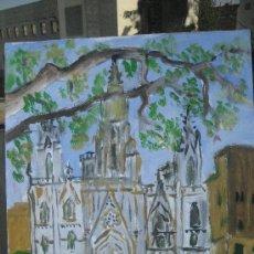 Arte: CATEDRAL DE BARCELONA, DE CRESPO. Lote 28455489