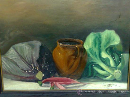 Arte: BODEGON, FIRMADO Y FECHADO AÑO 1911. OLEO /LIENZO , ESCUELA ESPAÑOLA - Foto 11 - 28536221