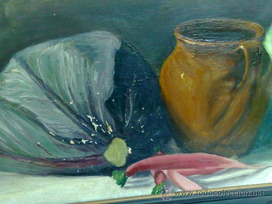 Arte: BODEGON, FIRMADO Y FECHADO AÑO 1911. OLEO /LIENZO , ESCUELA ESPAÑOLA - Foto 13 - 28536221