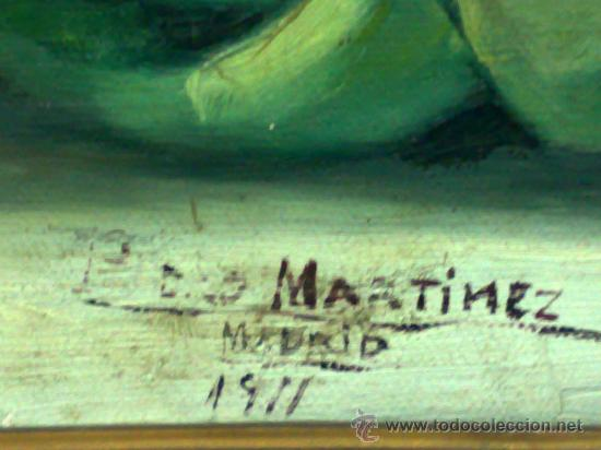 Arte: BODEGON, FIRMADO Y FECHADO AÑO 1911. OLEO /LIENZO , ESCUELA ESPAÑOLA - Foto 9 - 28536221