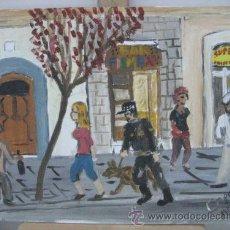 Arte: CALLE ROBADOR, DE CRESPO. Lote 28597633