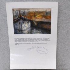 Arte: NICOLAU RAURICH I PETRE (BARCELONA, 1871-1945) OLEO TELA ARCHIPERA. CON CERTIFICADO DE AUTENTICIDAD. Lote 28645623