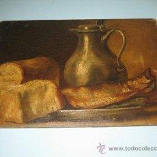 Arte: PINTURA ANTIGUA AL OLEO. BODEGON. SIN FIRMA. SIGLO XVIII-XIX. Lote 28630581