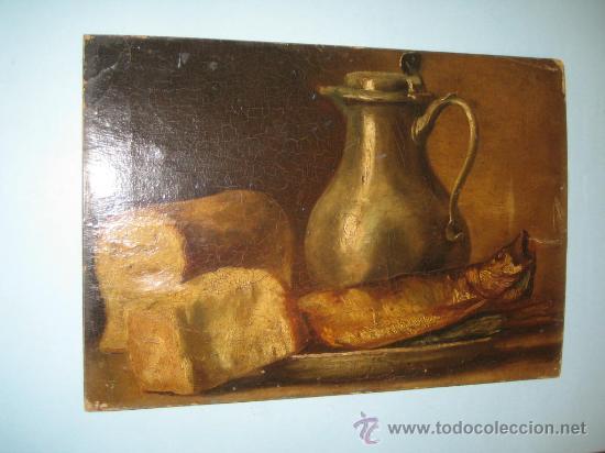 Arte: PINTURA ANTIGUA AL OLEO. BODEGON. SIN FIRMA. SIGLO XVIII-XIX - Foto 2 - 28630581