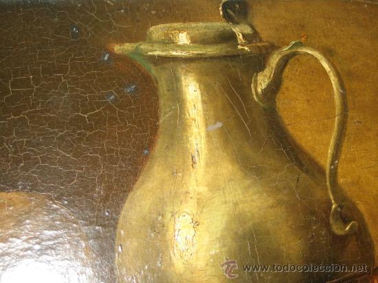 Arte: PINTURA ANTIGUA AL OLEO. BODEGON. SIN FIRMA. SIGLO XVIII-XIX - Foto 10 - 28630581