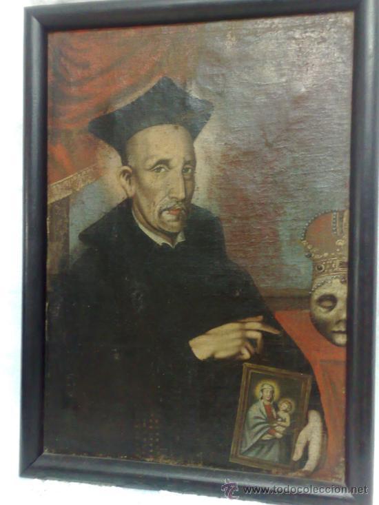 SIGLO XVII-XVIII. O/L (Arte - Pintura - Pintura al Óleo Antigua siglo XVII)