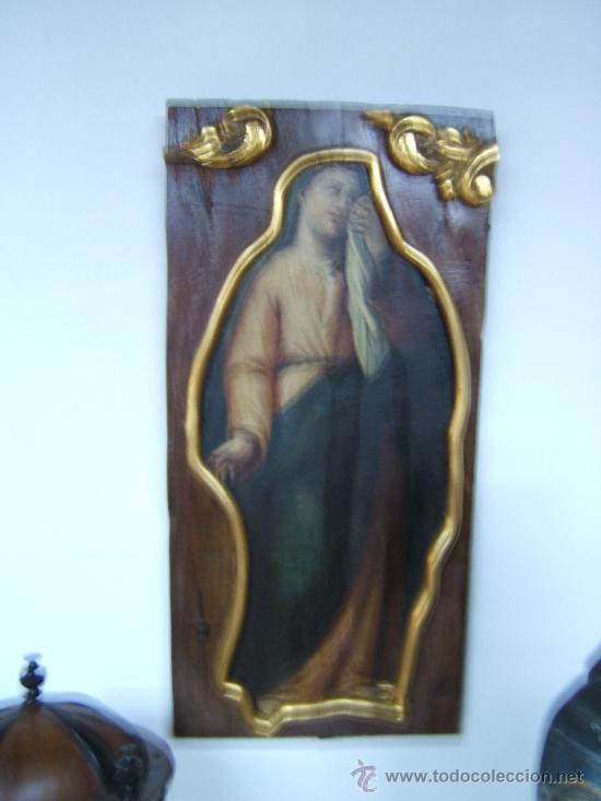 PINTURA OLEO SOBRE TABLA (Arte - Pintura - Pintura al Óleo Antigua siglo XVIII)