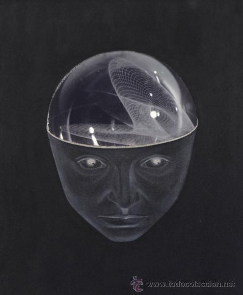 Arte: Marina NÚÑEZ . Serie Ciencia Ficción . 2000 . Óleo sobre lienzo . Enmarcado . 50 x 43 cm. - Foto 3 - 28949774