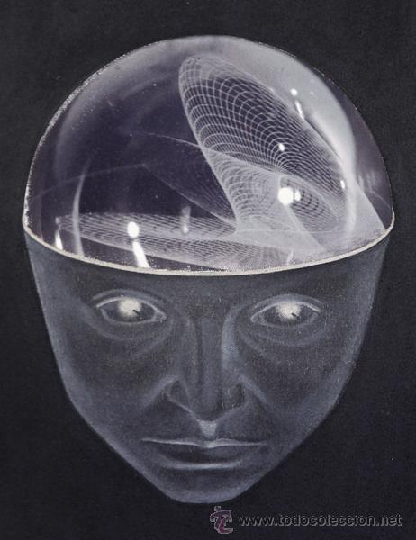 Arte: Marina NÚÑEZ . Serie Ciencia Ficción . 2000 . Óleo sobre lienzo . Enmarcado . 50 x 43 cm. - Foto 5 - 28949774