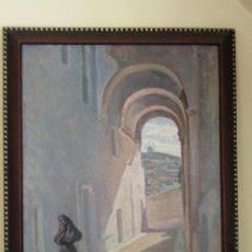 Arte: CUADRO ÓLEO LIENZO FIRMADO FRANCISCO PRIETO (VEJER).FRANCISCO PRIETO SANTOS.. Lote 28998969