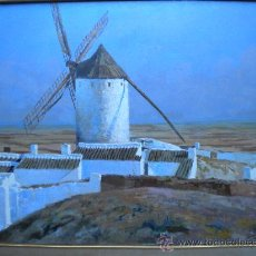 Arte: EXTRAORDINARIO ISIDRO ANTEQUERA. CAMPO DE CRIPTANA. Lote 29124618