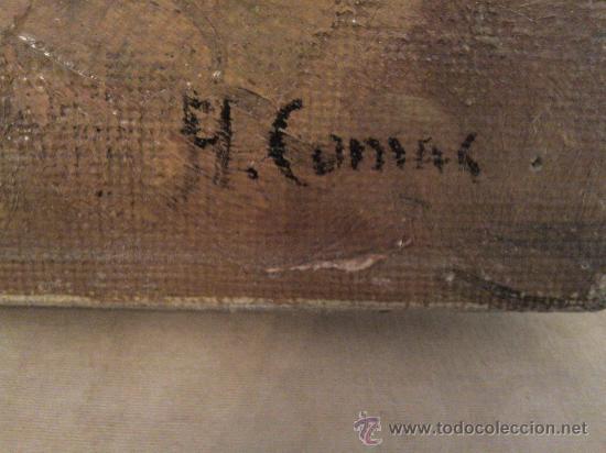 Arte: Cuadro óleo lienzo Firmado Augusto Comar - Foto 5 - 29175496