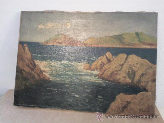 Arte: Cuadro óleo lienzo Firmado Augusto Comar - Foto 2 - 29175496