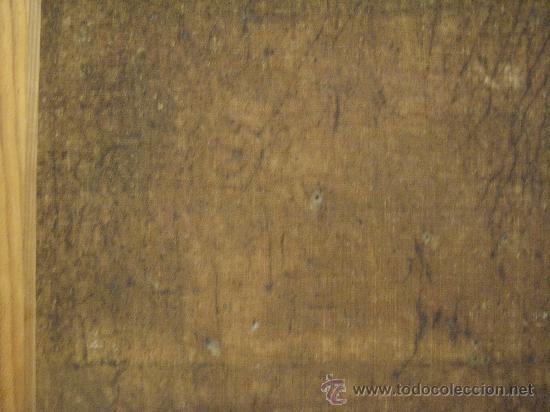 Arte: cuadro frances al oleo con escena galante finales del s. XVIII y principios del S. XIX - Foto 16 - 29220253