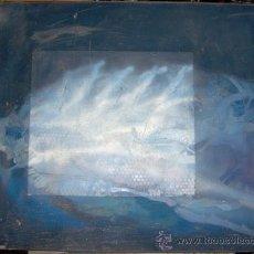 Arte: ALEJANDRO GOMEZ MARCO -OLEO SOBRE LIENZO 150 X 120 CM.. TITULO- LA MAQUINA VOLADORA- FIRMA TRASERA. Lote 29366776