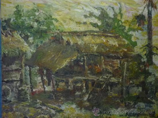 PAISAJE FILIPINO, POR RAMÓN MIGUEL (Arte - Pintura - Pintura al Óleo Moderna sin fecha definida)