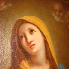 Art - Preciosa Piedad del s. XVIII en oleo sobre lienzo.circulo de Zacarias Gonzalez Velasquez o de el mis - 29617930