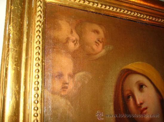 Arte: Preciosa Piedad del s. XVIII en oleo sobre lienzo.circulo de Zacarias Gonzalez Velasquez o de el mis - Foto 3 - 29617930