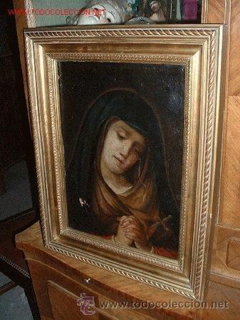 Arte: VIRGEN MARIA DOLOROSA FINALES DEL S. XVIII-XIX - Foto 3 - 29633937