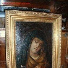 Arte: VIRGEN MARIA DOLOROSA FINALES DEL S. XVIII-XIX. Lote 29633937