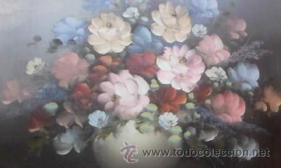 OLEO SOBRE TABLA POR ROBERT COX.FIRMADO POR EL PINTOR. (Arte - Pintura - Pintura al Óleo Antigua sin fecha definida)