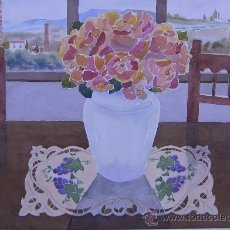 Arte - ACUARELA ROSAS - 30056892