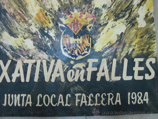 Arte: XATIVA, JATIVA (VALENCIA) EN FALLES - JUNTO LOCAL FALLERA - 1984 - Foto 2 - 26606284