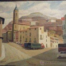Arte: PUEBLO DE ARAGÓN DE GALOFRE SURIS.. Lote 30418207