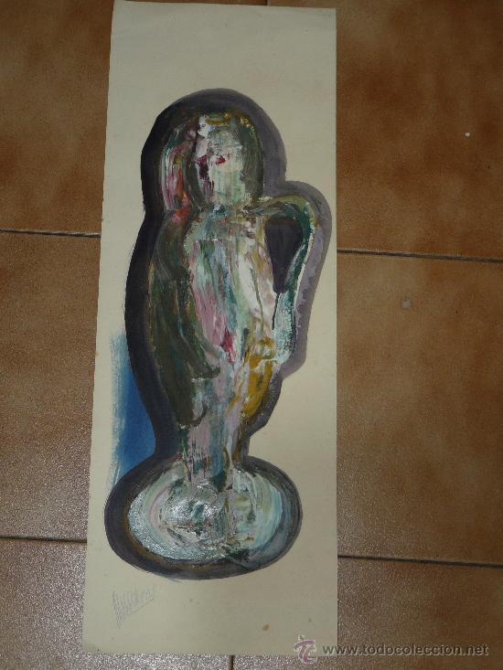 OLEO/CARTULINA -FDO NAVARRO-COMPOSICIÓN (Arte - Pintura - Pintura al Óleo Moderna sin fecha definida)
